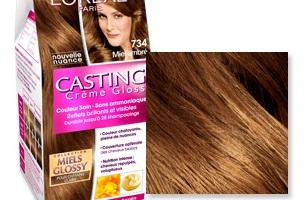 casting crme gloss miel ambr loral - Coloration Marron Miel